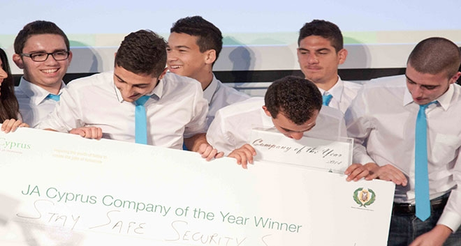JA Cyprus Celebrates Successful Company of the Year Competition