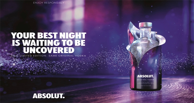 Absolut Uncover: Absolut Presents New Limited-Edition Bottle