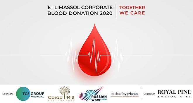 1st Limassol Corporate Blood Donation - Together We Care