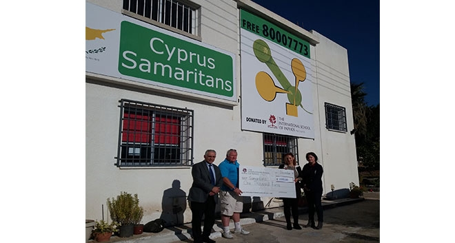 International School Of Paphos Supports 'Cyprus Samaritans'