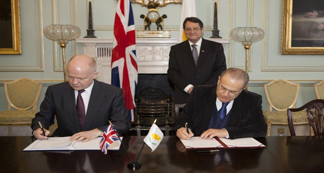 Cyprus–UK Agreement on Regulating Development in the British Bases Enters Final Stages