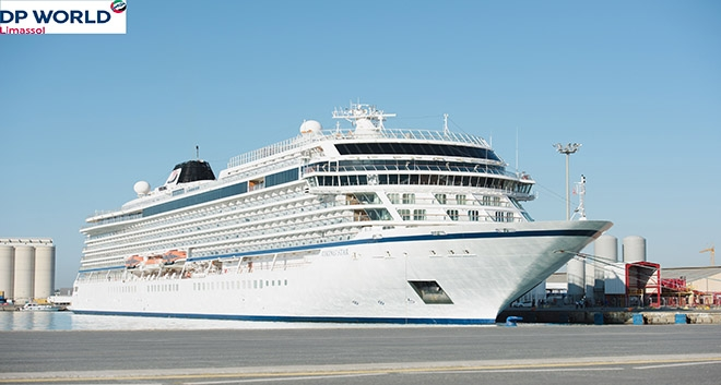"DP World Limassol Welcomes  ""Jewel of The Seas"" and ""Viking Star"""