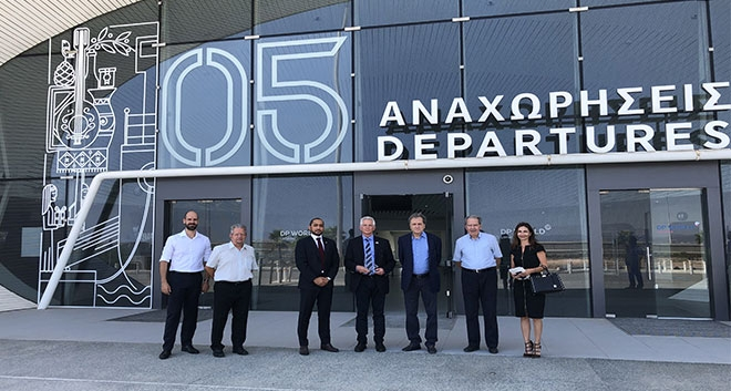 DP World Limassol Welcomed The Ambassador Of Israel To Cyprus To The New Passenger Terminal