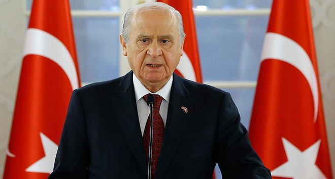 "Devlet Bahceli: ""Cyprus is Turkish and will remain Turkish"""