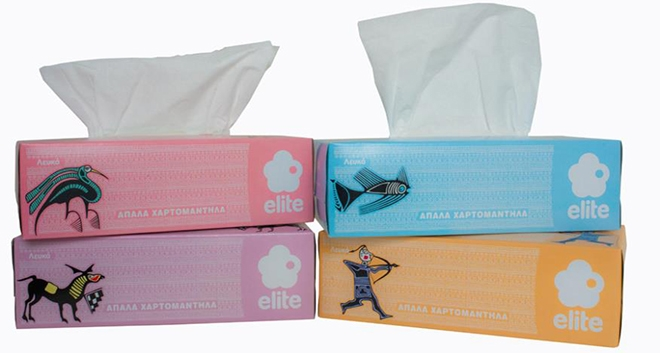 Limited Edition Elite Facial Tissues