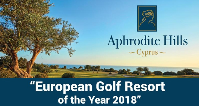 Aphrodite Hills Named 'European Golf Resort of the Year 2018'