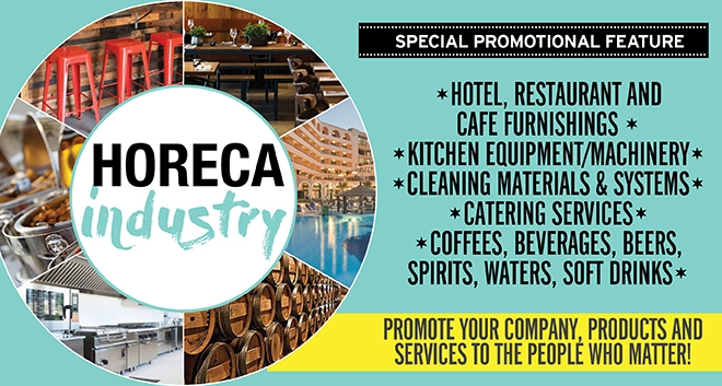 GOLD Magazine Special Promotional Feature – HORECA Industry