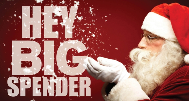Hey Big Spender: Top Christmas Spender States