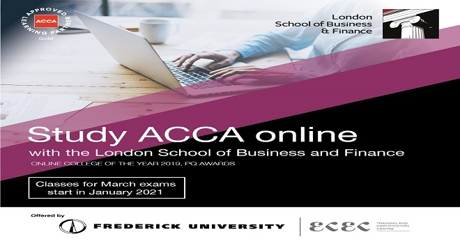 Study ACCA with the London School of Business and Finance