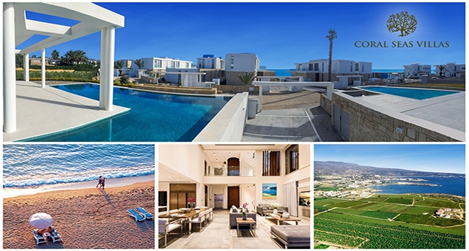 Leptos Coral Seas Villas: Top Selling Beachfront Resort in Paphos