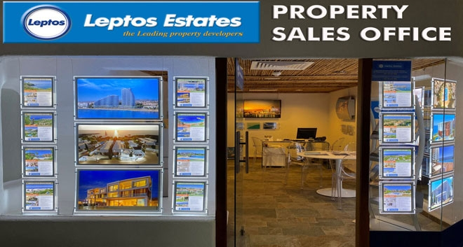 Leptos Estates Opens New Sales Office At The Coral Beach Hotel & Resort