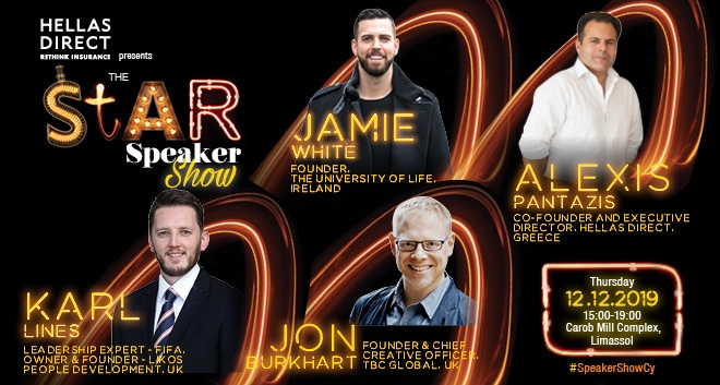 Meet The Stars at The Limassol Star Speaker Show Tomorrow