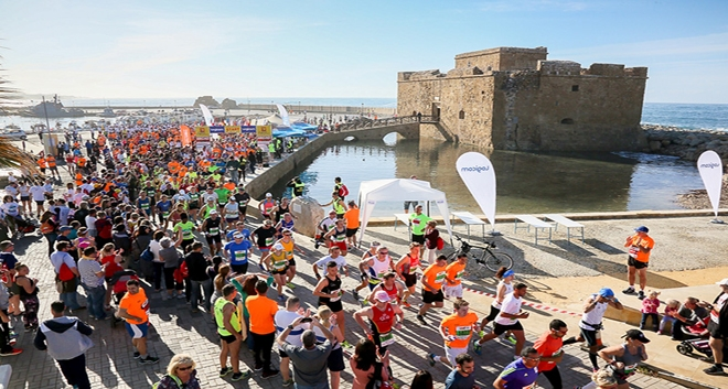 Logicom Cyprus Marathon to Take Place in Paphos