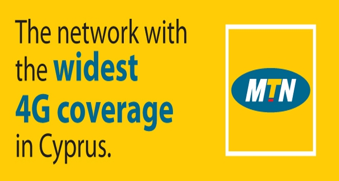 MTN: Widest 4G Coverage in Cyprus