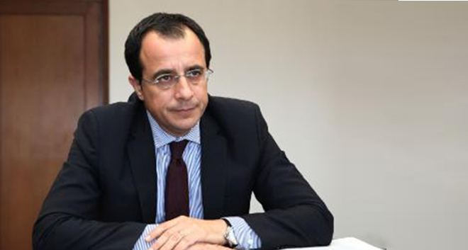FM Christodoulides Condemns the Signing of The `Memorandum` Between Turkey and Libya