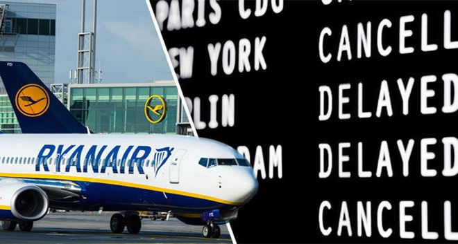 Ryanair Cancels Flights as Pilots Walk Out