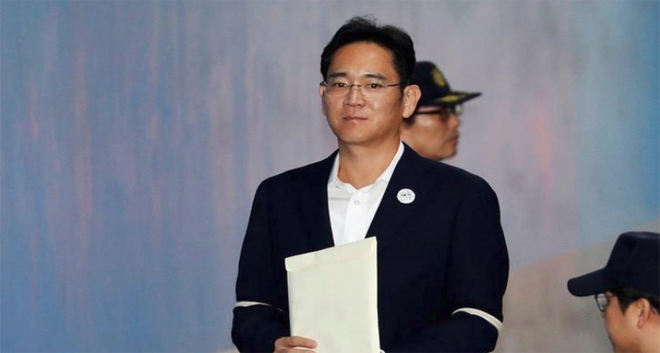 South Korea Prosecutors Seek 12 Years Jail for Samsung Heir Lee in Corruption Case