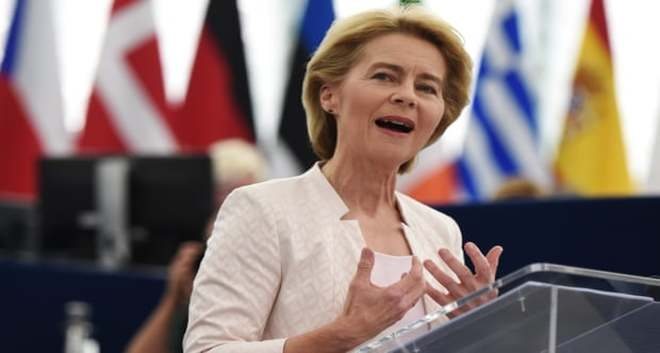 Ursula von der Leyen Elected First Female European Commission President