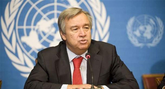 Antonio Guterres Discusses Situation In Cyprus During Virtual Meeting With Boris Johnson
