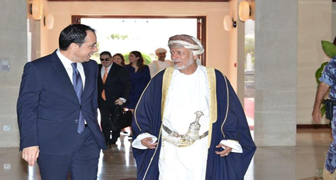 Cyprus and Oman Agree to Speed up Procedures to Conclude Drafting of Interstate Agreements