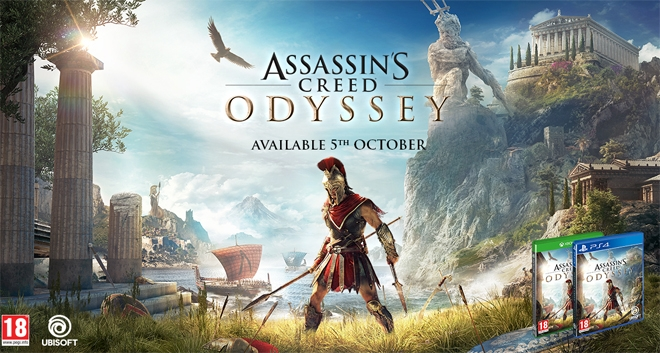 Assassin's Creed® Odyssey Brings Ancient Greece to Life