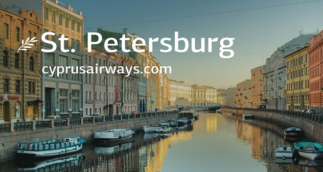 Cyprus Airways Increases Flight Frequency to Saint Petersburg