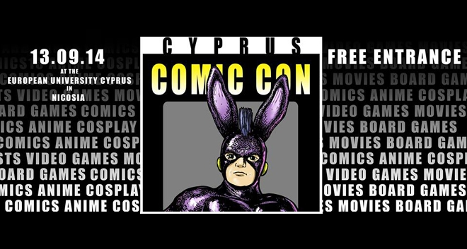 Cyprus to Host Its First Comic Con
