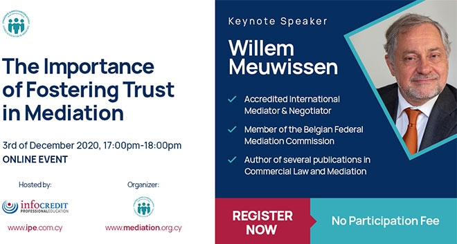 Webinar: The Importance Of Fostering Trust In Mediation