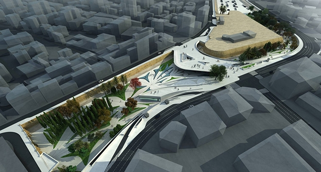 Local Architecture Students Visit Zaha Hadid's Eleftheria Square