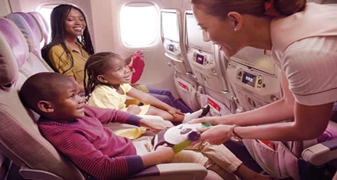 Emirates Creates Child Boredom Quotientto Keep Kids Entertained on the Plane