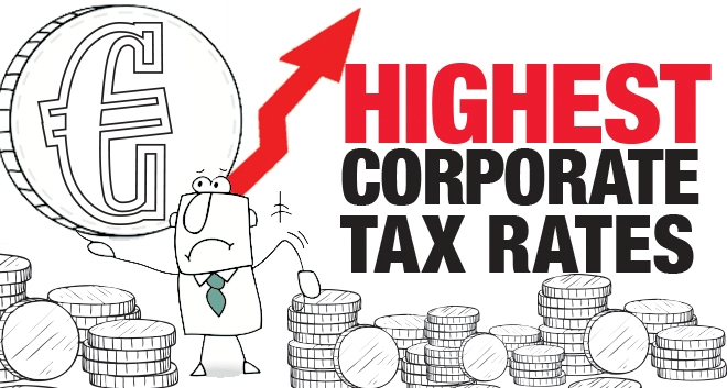 Highest Corporate Tax Rates