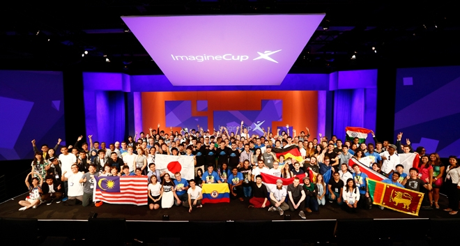 IN PICTURES: The Microsoft Imagine Cup 2015