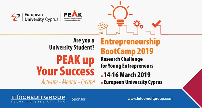 Infocredit Supports Boot-Camp Entrepreneurship-PEAK Up Your Success at EUC