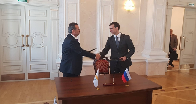 Invest Cyprus Sign MoU with Russia's Skolkovo Innovation Centre