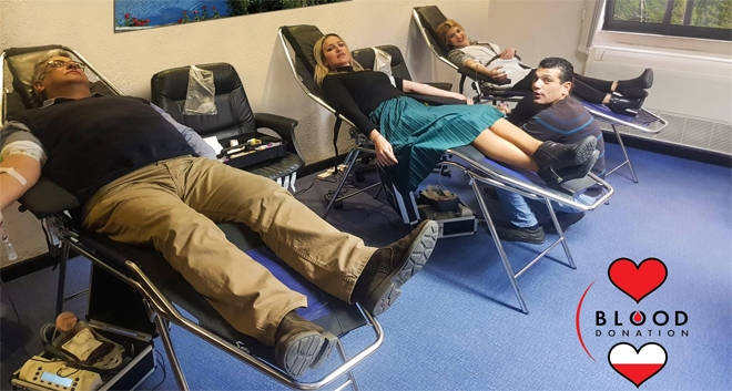 Leptos Estates 15th Annual Staff Blood Donation