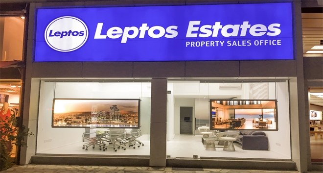 Leptos Estates Opens New Sales Office in Limassol