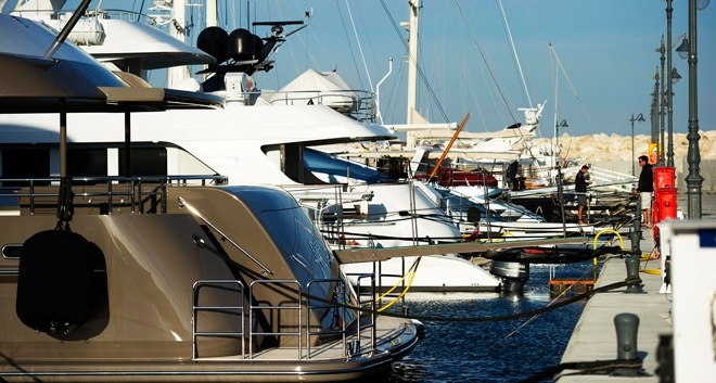 Preparations Underway for the Limassol Boat Show 2018