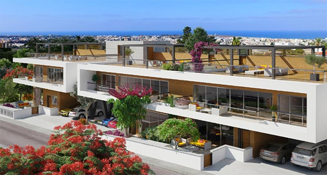 Park Avenue Residences: Luxury Houses in Paphos