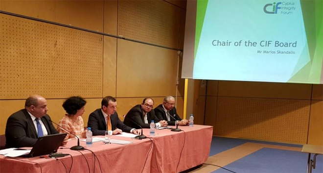 Skandalis: The Cyprus Integrity Forum Aims to Promote Transparency