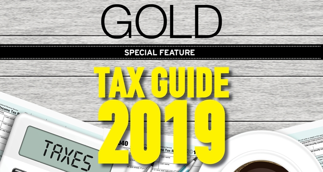 Gold Magazine Special Feature - Tax Guide 2019