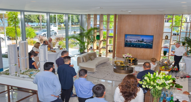 Trilogy Limassol Seafront Welcomes Valued Associates at First Sales Office Event