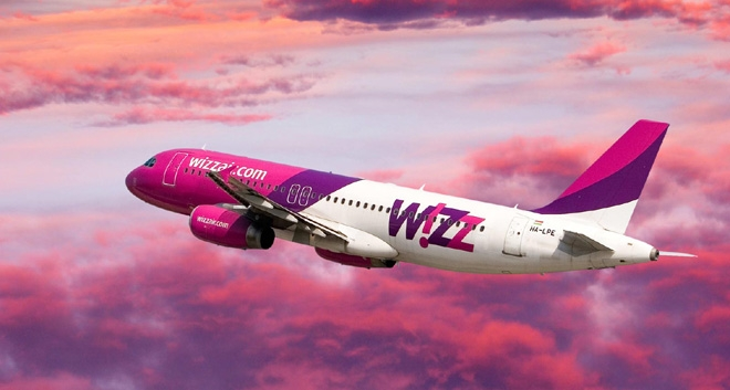Wizz Air: 3rd Based Aircraft in Larnaca and 5 New Routes