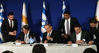 Revel: Cyprus, Greece and Israel Welcome Cooperation with Like-Minded Countries