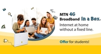 MTN Offers Students Discount on 4G Broadband in a Box
