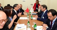 Anastasiades Discusses UNFICYP with Russian and Chinese FMs