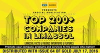 GOLD Magazine Special Publication – Top 200+ Companies in Limassol