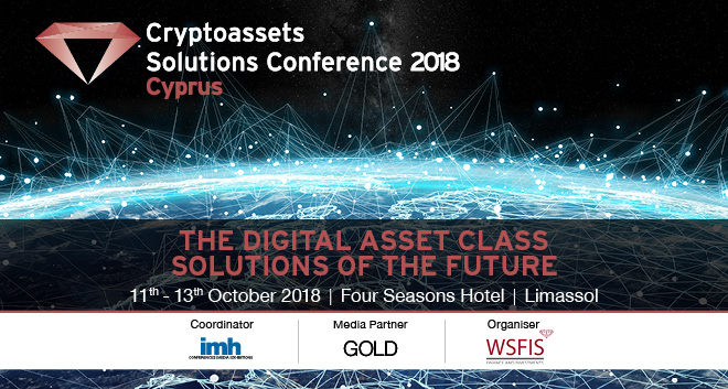 Cryptoassets solutions conference