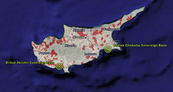 to Surrender Base Areas to a Reunified Cyprus